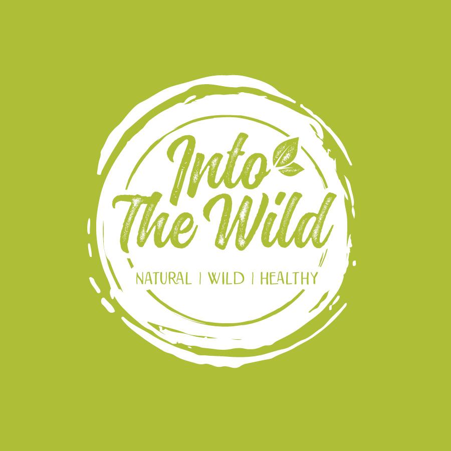 into the wild logo design