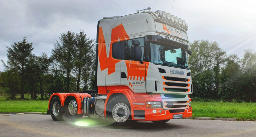 lorry graphics design