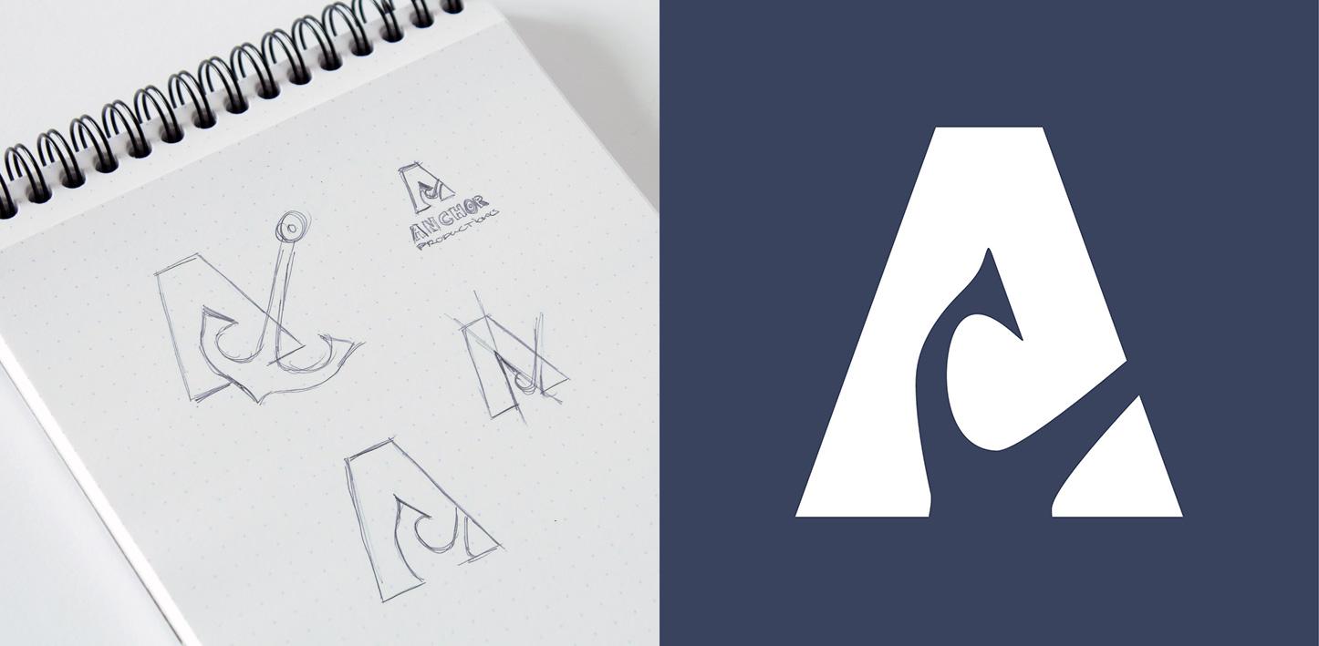 logo design sketch