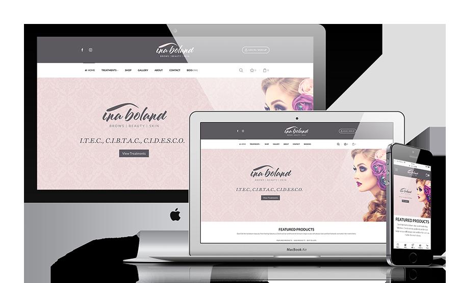 beauty-salon-website-design ireland